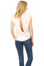 Dante 6 |  Basic top with open back Danthon | white  | Picture 6