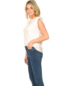 Dante 6 |  Basic top with open back Danthon | white  | Picture 5