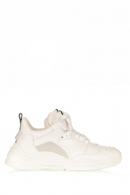 IRO | Leather sneakers Curve Runner | white  | Picture 1