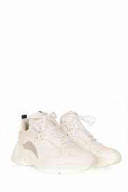 IRO | Leather sneakers Curve Runner | white  | Picture 3
