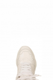 IRO | Leather sneakers Curve Runner | white  | Picture 4