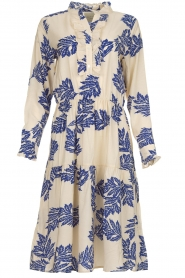 Lolly's Laundry |  Floral maxi dress Haley | natural  | Picture 1