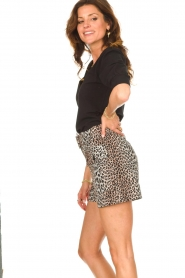 Dante 6 |  Top with puff sleeves Optimist | black  | Picture 6