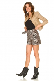 Dante 6 |  Top with puff sleeves Optimist | black  | Picture 3