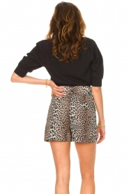 Dante 6 |  Top with puff sleeves Optimist | black  | Picture 7