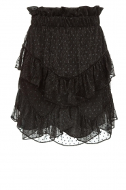 IRO |  Ruffle skirt Melbou|black  | Picture 1