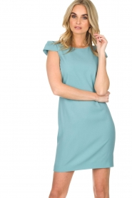 Patrizia Pepe |  Dress Chantel | blue  | Picture 2