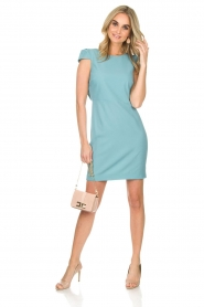 Patrizia Pepe |  Dress Chantel | blue  | Picture 3