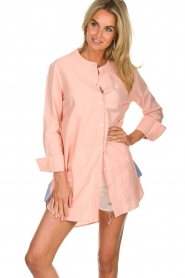 Lolly's Laundry |  Oversized blouse Doha | pink  | Picture 2