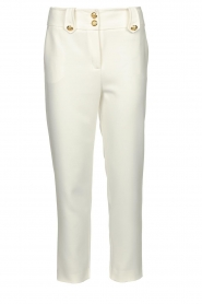 Nenette |  Cigarette pants Euridice | white  | Picture 1