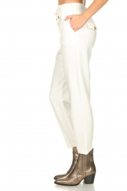 Nenette |  Cigarette pants Euridice | white  | Picture 5
