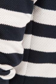 Atos Lombardini | Gestreepte blazer Pippa | blauw/wit  | Afbeelding 6