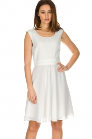 Patrizia Pepe |  Dress Flori | White  | Picture 2