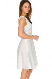 Patrizia Pepe |  Dress Flori | White  | Picture 4