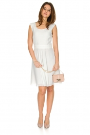 Patrizia Pepe |  Dress Flori | White  | Picture 3