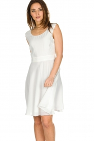 Patrizia Pepe |  Dress Flori | White  | Picture 6