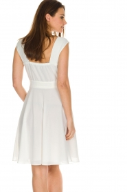 Patrizia Pepe |  Dress Flori | White  | Picture 5