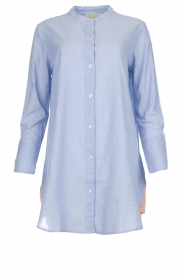 Lolly's Laundry |  Oversized blouse Doha | blue  | Picture 1