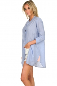 Lolly's Laundry |  Oversized blouse Doha | blue  | Picture 4