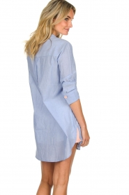 Lolly's Laundry |  Oversized blouse Doha | blue  | Picture 5