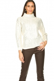 Nenette |  Luxury sweater Molly | naturel  | Picture 2