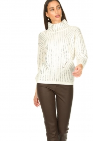 Nenette |  Luxury sweater Molly | naturel  | Picture 7