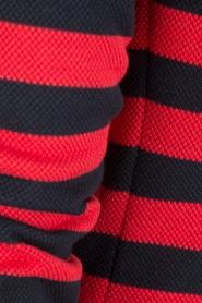 Atos Lombardini | Gestreepte blazer Pippa | rood/blauw  | Afbeelding 6