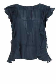 Lolly's Laundry |  Ruffle top Hamony | blue  | Picture 1