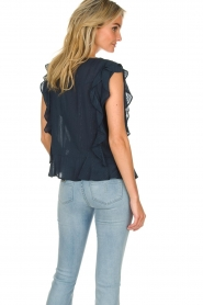 Lolly's Laundry |  Ruffle top Hamony | blue  | Picture 5