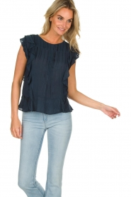 Lolly's Laundry |  Ruffle top Hamony | blue  | Picture 2