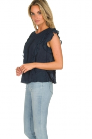 Lolly's Laundry |  Ruffle top Hamony | blue  | Picture 4