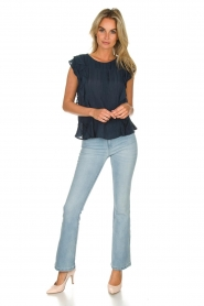 Lolly's Laundry |  Ruffle top Hamony | blue  | Picture 3