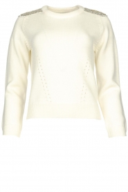 Nenette |  Knitted sweater Madrid | naturel  | Picture 1