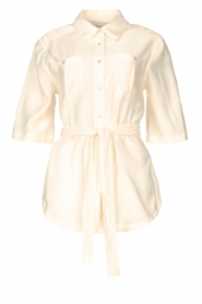 Dante 6 |  Long blouse with tie waist Radical | natural  | Picture 1