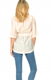 Dante 6 |  Long blouse with tie waist Radical | natural  | Picture 7
