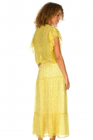 Lolly's Laundry |  Top with dots Isabel | yellow  | Picture 5