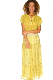 Lolly's Laundry |  Top with dots Isabel | yellow  | Picture 2