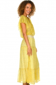 Lolly's Laundry |  Top with dots Isabel | yellow  | Picture 4