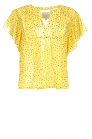 Lolly's Laundry |  Top with dots Isabel | yellow  | Picture 1