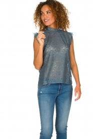 Lolly's Laundry | Lace top Dea | blue  | Picture 2