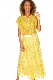Lolly's Laundry |  Maxi skirt Bonny | yellow  | Picture 2