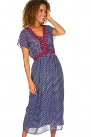 Lolly's Laundry |  Maxi dress Judy | blue  | Picture 2