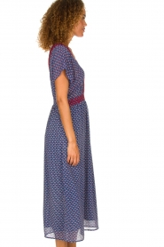 Lolly's Laundry |  Maxi dress Judy | blue  | Picture 4