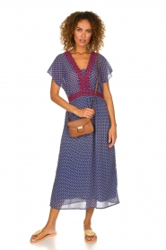 Lolly's Laundry |  Maxi dress Judy | blue  | Picture 3