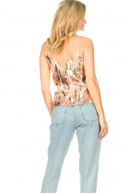 Dante 6 |  Top with sequins Obu | nude  | Picture 6