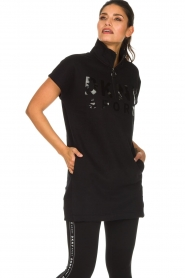 DKNY Sport |  Tunic sweater Ashley | black  | Picture 4