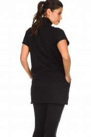 DKNY Sport |  Tunic sweater Ashley | black  | Picture 6