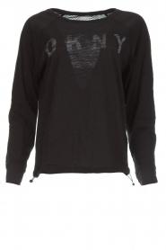 DKNY Sport |  Logo-printed sports top Hailee | black  | Picture 1