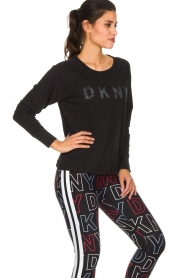 DKNY Sport |  Logo-printed sports top Hailee | black  | Picture 5