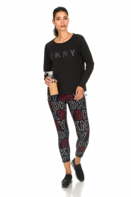 DKNY Sport |  Logo-printed sports top Hailee | black  | Picture 3